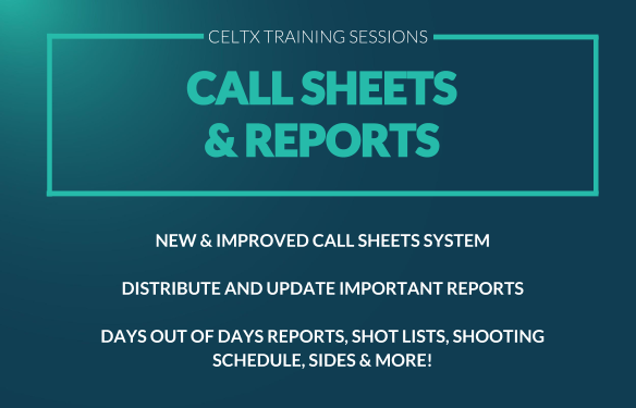thumbnail recording call sheets